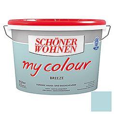 Schöner Wohnen Wand- und Deckenfarbe my colour (Breeze, 10 l, Matt)