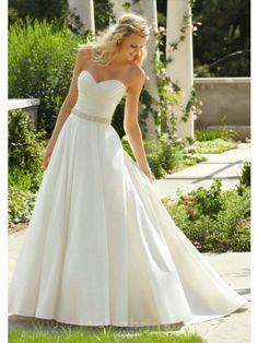 Wonderful Perfect Wedding Dress For The Bride Ideas. Ineffable Perfect Wedding Dress For The Bride Ideas. 2015 Wedding Dresses, Wedding Dress Sizes, Bridal Dresses, Wedding Gowns, Dresses 2014, Wedding Corset, Weeding Dress, Simple Country Wedding Dresses, Party Dresses