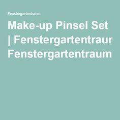 Make-up Pinsel Set | Fenstergartentraum