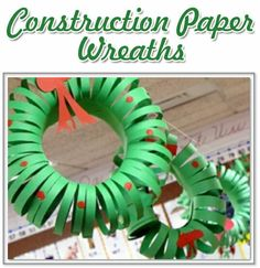 Looking for quick Christian crafts to reinforce who God is, or what God has done? These are two great Christian crafts are GREAT for multi-aged kids. Christmas Crafts For Kids To Make, Christmas Wreaths To Make, Christmas Mom, Simple Christmas, Christmas Ideas, Christmas Ornament, Christian Christmas Crafts, Christian Crafts, Paper Christmas Decorations