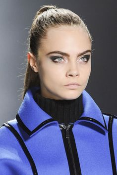 Fall 2013 Makeup Trends - The Best Makeup Looks From Fall 2013 Fashion Week - Harper's BAZAAR - Cat Eye