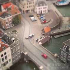 Holland Print, Holland Photography, City Square Photography, Miniature Print, Urban Photography, Kids Room Decor, Nursery Decor, Home Decor