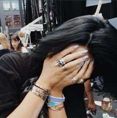 11 Kylie Jenner Nails that Are Shining Examples of the Acrylic Manicure   Bustle