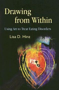 Book: Drawing from Within: Using Art to Treat Eating Disorders.  Go here http://www.betterworldbooks.com/drawing-from-within-using-art-to-treat-eating-disorders-id-9781843108221.aspx