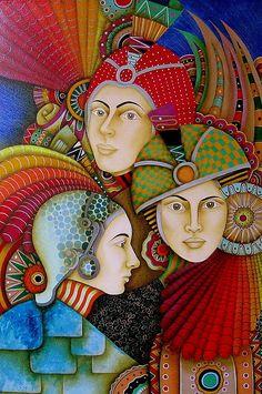 MEZTLI,XIPE TOTEC,XITLALI ( Luna, Primavera, Estrellas)   2011   Jorge Rosensberg