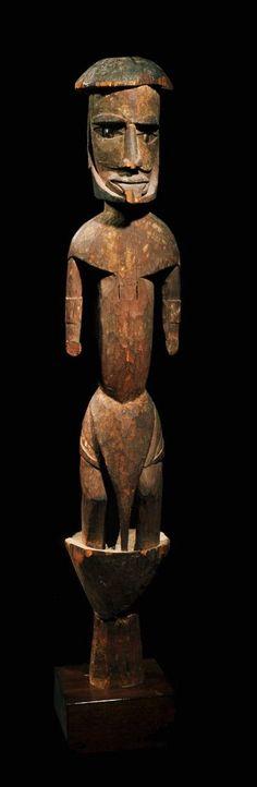 Malangan effigy, Art Océanien - Art Tribal - Art Premier - Galerie Franck Marcelin