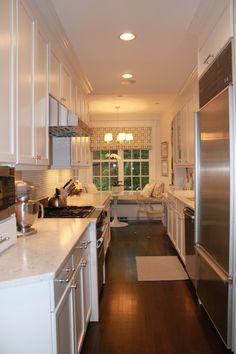 Georgetown White Kitchen - traditional - kitchen - dc metro - Laura Rodman Designs