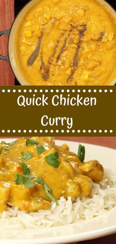 Fresh Curry Chicken Recipe on This Favorite Site. Famous Recipe Chicken, Great Chicken Recipes, Chinese Chicken Recipes, Healthy Meats, Healthy Meat Recipes, Curry Recipes, Quick Chicken Curry, How To Cook Chicken, Healthy Stuffed Chicken