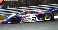 RSC Photo Gallery - World Sports Prototype Championship Spa 1989 - Nissan R89C no.23 - Racing Sports Cars