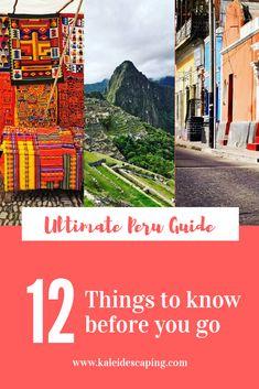 Ultimate Peru Travel Planning Guide: 12 Things to Know Before You Go 7 Natural Wonders, Nazca Lines, Lake Titicaca, Iguazu Falls, Peru Travel, Machu Picchu, Plan Your Trip, Things To Know, Trip Planning