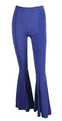 Pivaconis Women Fashion Wide Leg High Waist Bell-Bottoms Palazzo Long Pants Autumn Fashion Casual, Long Pants, Palazzo, Bell Bottoms, Bell Bottom Jeans, High Waist, Wide Leg, Legs, Womens Fashion