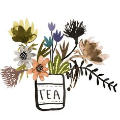 'Little Afternoon Cuppa' by Katie Vernon