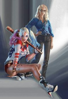 Harleen & Harley Quinn