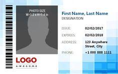Company Id Badge Template from i.pinimg.com