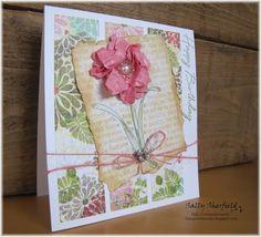 Rose with seam binding