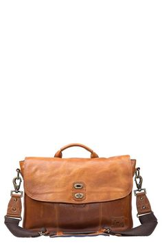 Will Leather Goods (or similar) distressed messenger bag/computer bag/briefcase for work.