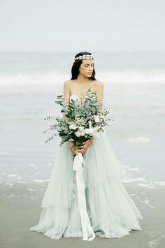 Ethereal bridal inspiration on the Pacific Ocean - wedding bouquet Seaside Wedding, Nautical Wedding, Boho Wedding, Dream Wedding, Perfect Wedding, Hamptons Wedding, Ethereal Wedding, Coastal Wedding Inspiration, Wedding Shoot