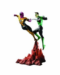DC Direct Green Lantern vs. Sinestro Mini Statue
