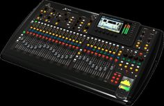 40-Input, 25-Bus Digital Mixing Console w/32 Programmable MIDAS Preamps, 25 Motorized Faders, Channel LCD's, 32-Channel Audio Interface & iPad/iPhone* Remote Control