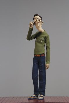 Father in Coraline Coraline Art, Coraline Jones, Coroline Movie, 3d Character, Character Design, Character Concept, Animation Image Par Image, Animation Stop Motion, Clay Animation