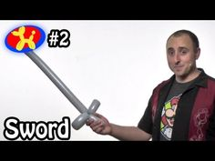 One Balloon Sword - Balloon Animal Lessons #2 - YouTube Easy!!!