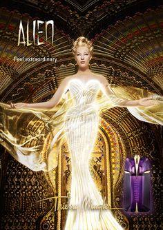 Reklama perfum Thierry Mugler Alien