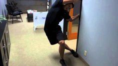 "The Best Quadratus Lumborum Stretch... QL aka ""Hip Hiker"" muscle!"