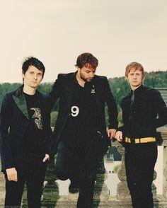 Matt, Chris and Dom #MUSE