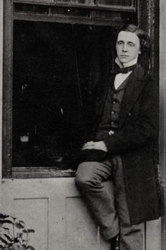 Lewis Carroll - Alice in Wonderland AND Through the looking-glass FIC CARROLL Photographic portrait of Lewis Carroll, c. 1856-60