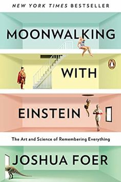 May 2012 Adult Book Club- Moonwalking with Einstein: the art and science of remembering everything by Joshua Foer (nonfiction) Book Club Books, The Book, Good Books, Books To Read, My Books, Amazing Books, Music Books, Einstein, Reading Lists