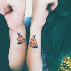 tatuajes hermanas pizza