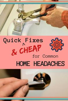 Here are 10 simple home repairs that keep both effort and expense to a minimum. In fact, they come in at under $10 each. Give a few of these a try and you'll end up feeling like a DIY rock star.