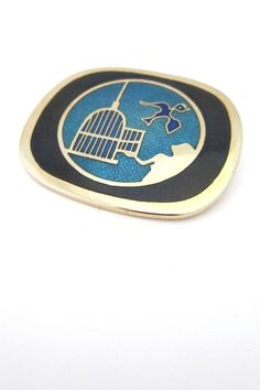 de Passille-Sylvestre set it free brooch