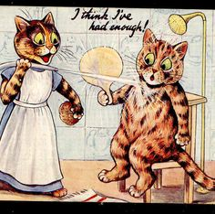 """I think I've had enough!"" 