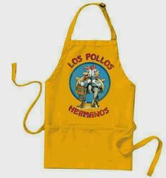 Delantal Breaking Bad Los Pollos Hermanos | Delantales