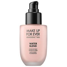 Water Blend Face & Body Foundation - MAKE UP FOR EVER | Sephora