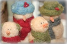 Pete & Felted Friends