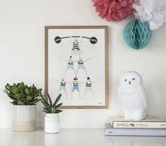 Acrobats Poster