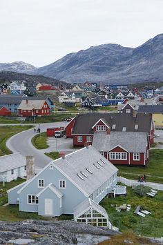 Kolonihavn at Nuuk, Greenland