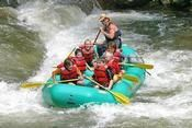 Whitewater rafting on the Ocoee River in McCaysville, GA.  Prices from $20-$30 depending on the day.