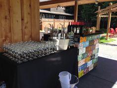 #redcedarfarm #snuffinscatering #rustic #bar #tacomawedding #gigharbor #keg #wine # wedding #catering