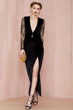 Nasty Gal Soften Up Velvet Dress | Shop What's New at Nasty Gal