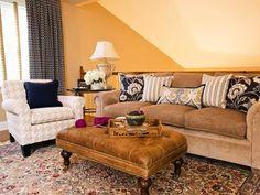 Living Rooms : Designers' Portfolio : Home & Garden Television