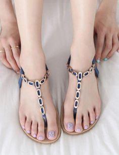 27 Cute Summer Flat Sandals for Women Coral Sandals, Pretty Sandals, Shoes Flats Sandals, Bridal Sandals, Girls Sandals, Cute Sandals, Flat Sandals, Summer Sandals, Summer Shoes