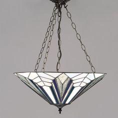 Lampada a Sospensione Tiffany Moderna, invertita