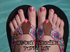 "@TawdryTerrier ""Puppy Luv"" - 1 bottle available at https://www.etsy.com/shop/TawdryTerrier #nailpolish #indienailpolish #tawdryterrier"