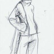 Irina Ternauciuc – Fashion sketch 21
