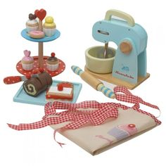 Baking Set | Traditional Wooden Toys for Children | Traditional Gifts and Toys for Girls and Boys | ASPACE