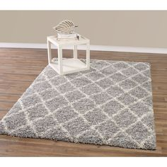 $235.99 This beautiful beni ourain inspired traditional tribal morroccon tralis design area rug gives you the luxurious and cozy feeling of a natural rug.
