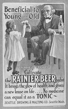 Cuando LA CERVEZA era una bebida Beneficiosa para niños...